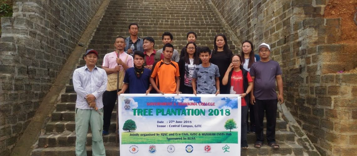 GOVT. J. THANKIMA COLLEGE TREE PLANTATION
