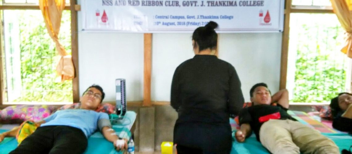Voluntary Blood Donation Camp Organised