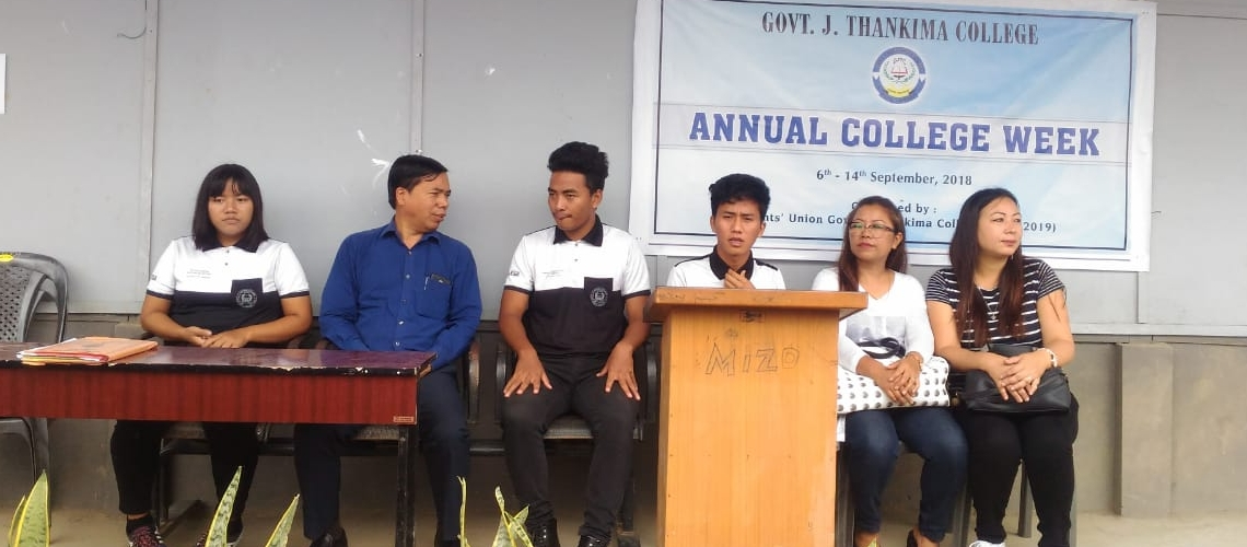 ANNUAL COLLEGE WEEK, 2018 INAUGURATED 1