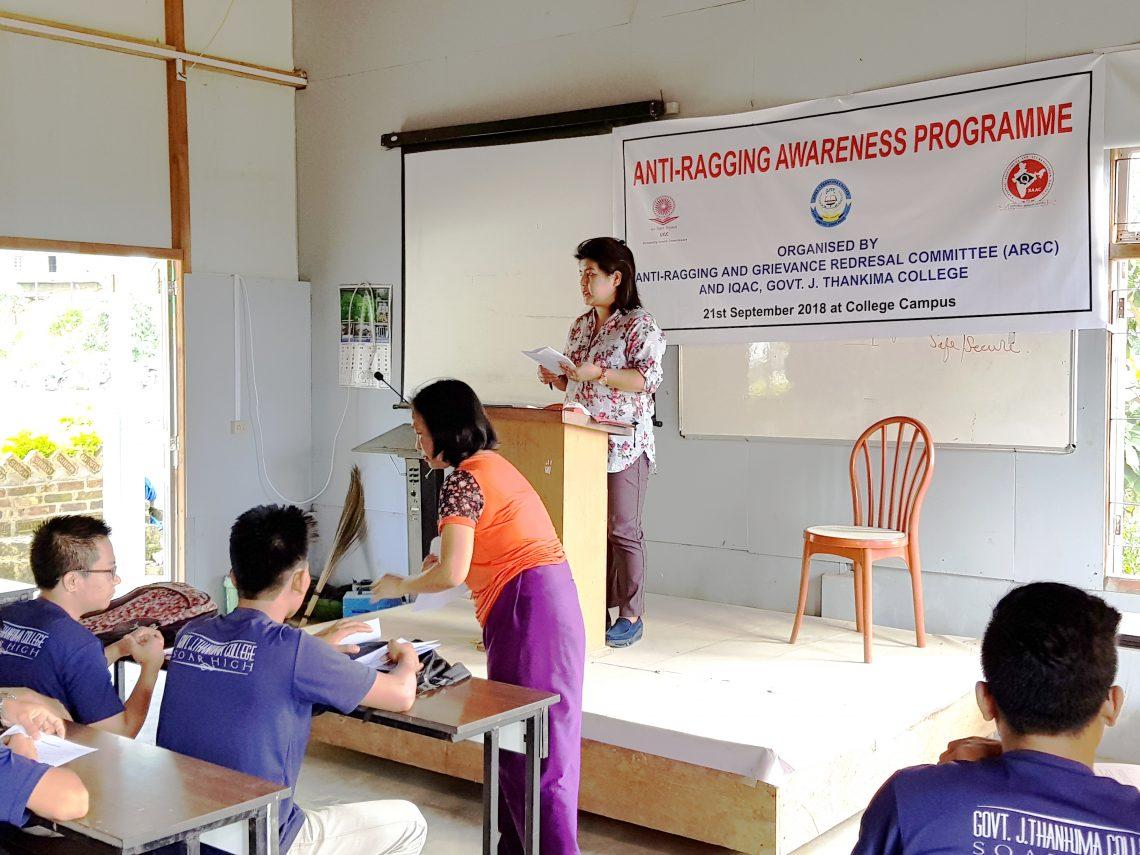 Anti Ragging Awareness Programme Conducted
