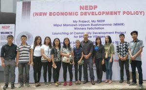 BBA students attended NEDP programme