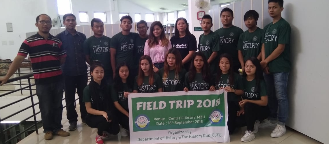 Field Trip to Mizoram University and Central Library 1
