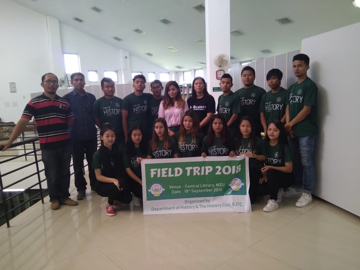 Field Trip to Mizoram University and Central Library