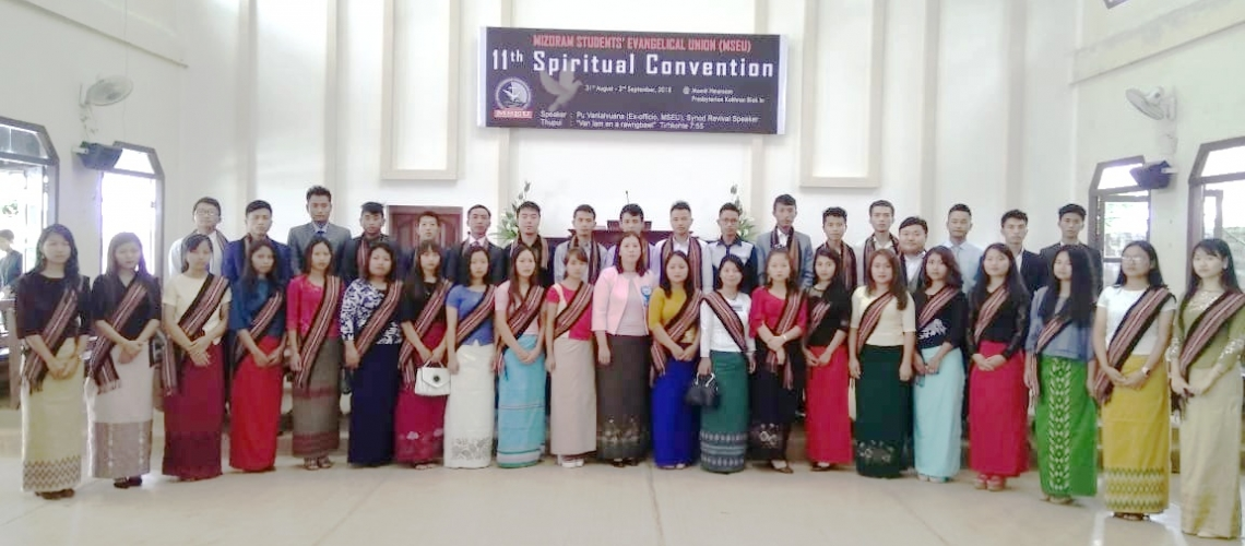 Forty two delegates of SEU attended the 11th Spiritual Convention