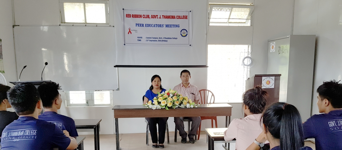 Peer Educator's Meeting Held