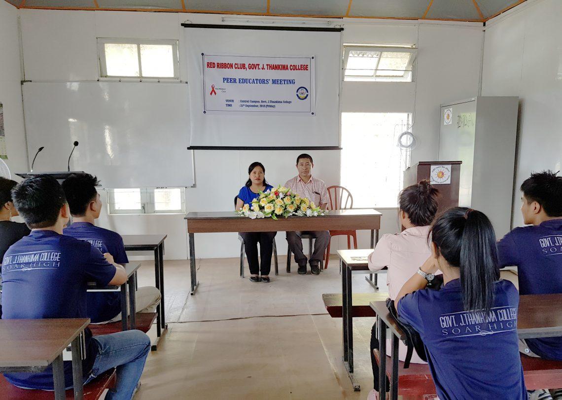 Peer Educator's Meeting Held