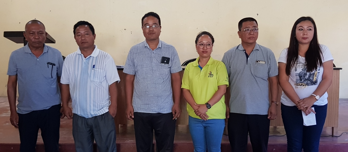 STAFF WELFARE ASSOCIATION LEADERS ELECTED