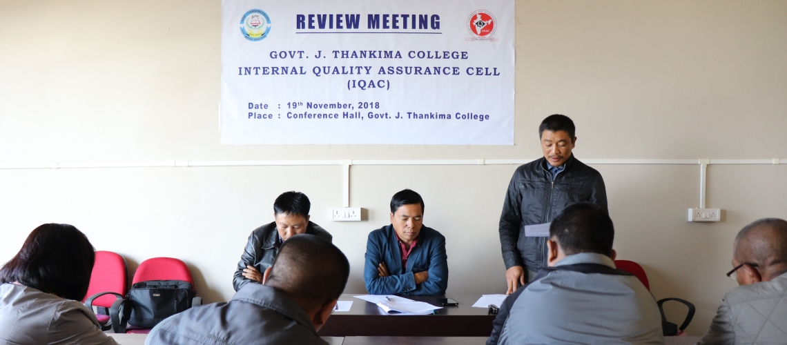 IQAC Review Meeting