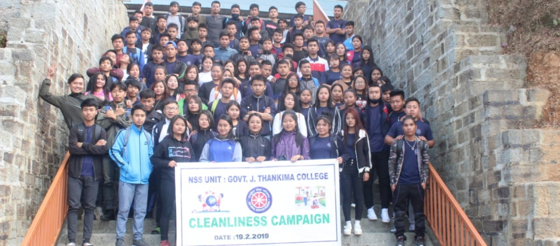 Cleanliness Campaign : GJTC 19th Feb, 2019 1