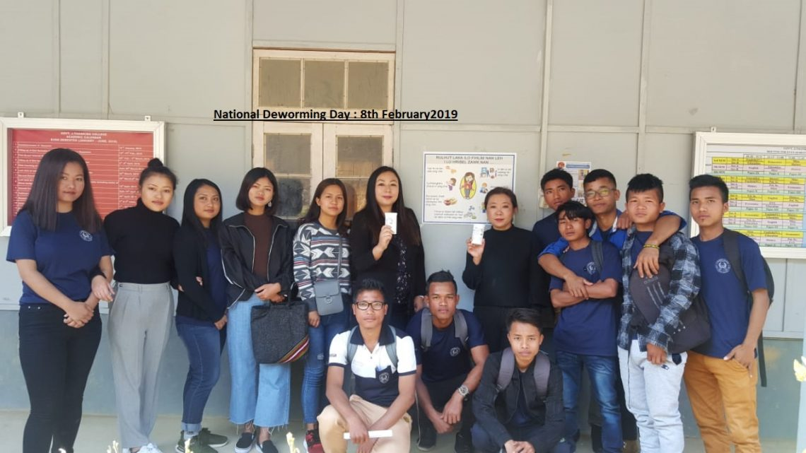 Observed National Deworming Day 2019: GJTC 8th Feb, 2019