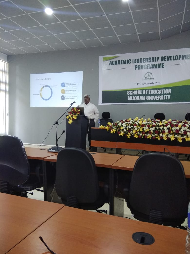 Training on Academic Leadership Development Programme