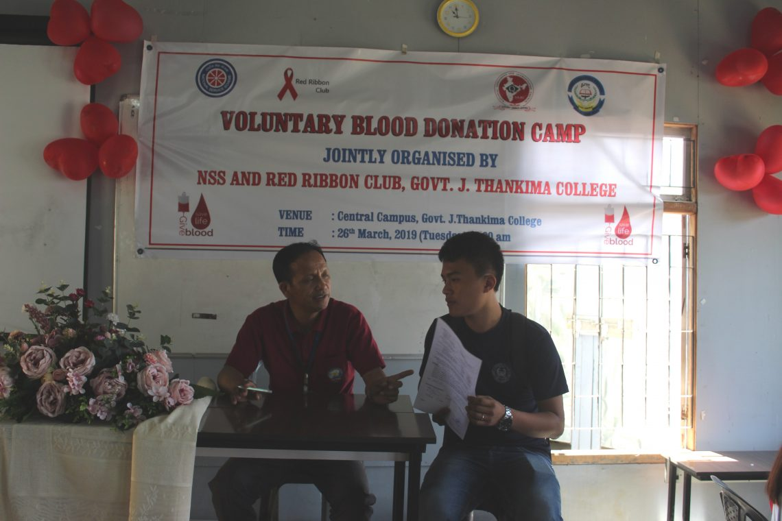 GJTC 26th March 2019 : Blood Donation Camp