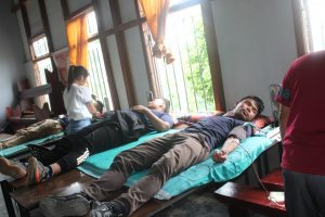 GJTC 23rd Aug, 2019: Blood Donation Camp 1