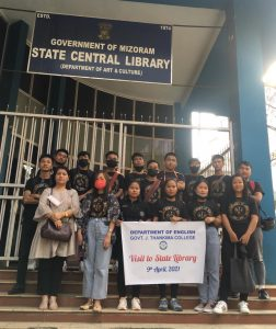 GJTC 21st April, 2021 : Visit to State Library