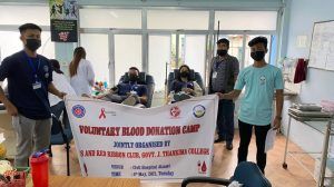 GJTC 4th May, 2021 : BLOOD DONATION CAMP