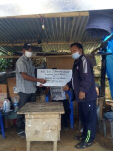 NSS Unit GJTC give Donation to Nausel (Adopted Village) Local Level Task Force 1