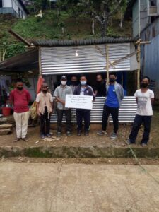 NSS Unit GJTC give Donation to Nausel (Adopted Village) Local Level Task Force