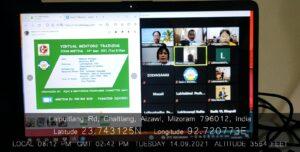 GJTC 17th Sept, 2021 : Virtual Mentors Training 1