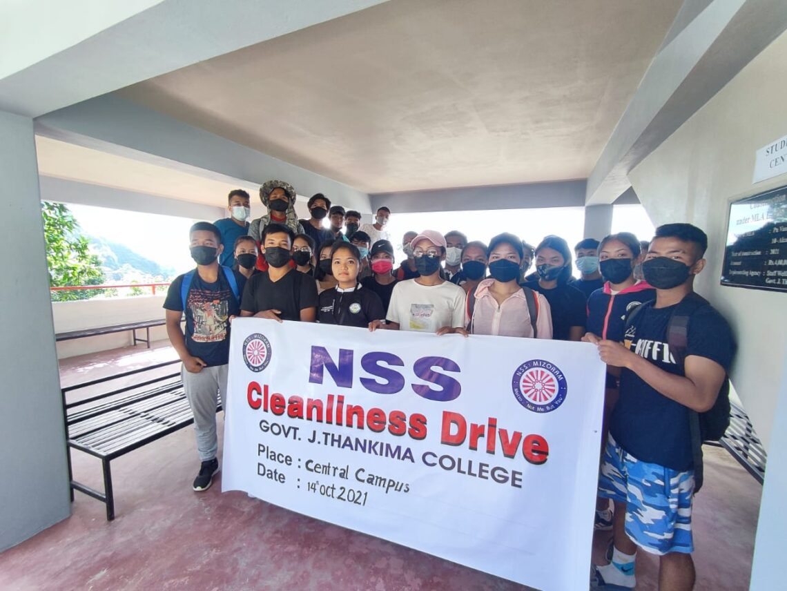 Cleanliness Drive at Central Campus